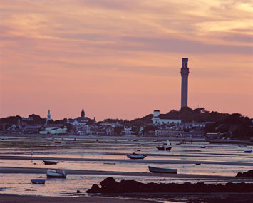 Provincetown Harbor, low tide